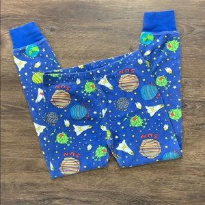 Outer Space Themed Pajama Bottoms